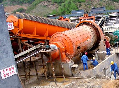 福建龙岩高岭土选矿生产线