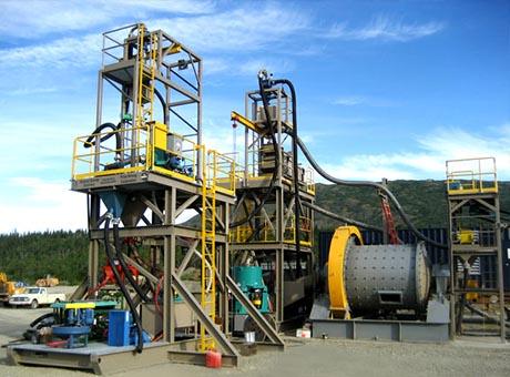云南滇中重力选矿生产线