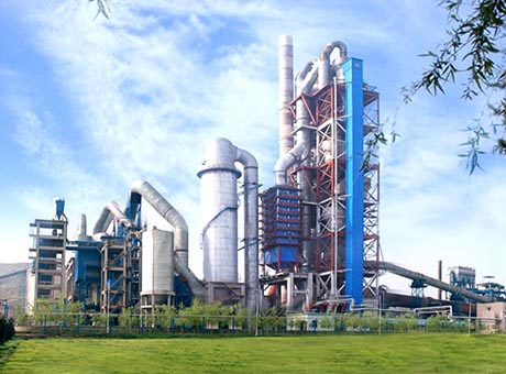 山东800吨/时水泥生产线