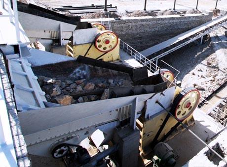 甘肃白银600t/h有色金属伴生矿破碎生产线