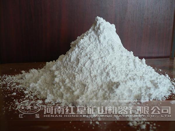 红星磨粉机制备石灰石粉工艺流程解析