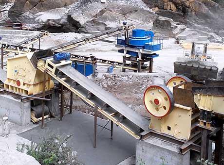 灵寿县彩砂生产线