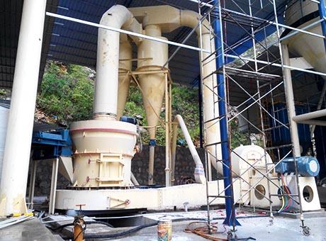 河北宣化500t/h膨润土磨粉生产线