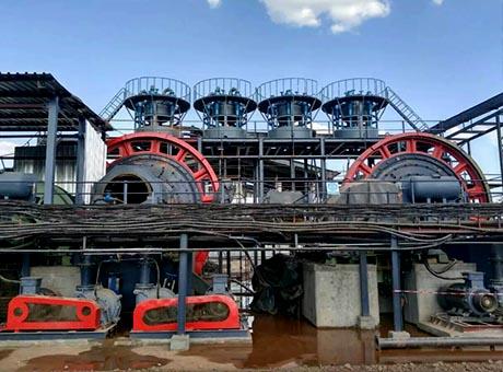 广西桂林200t/h锰矿选矿生产线