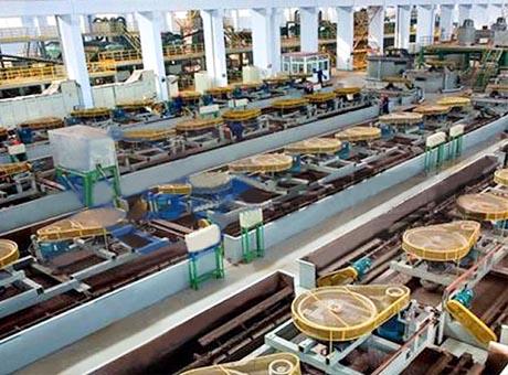 内蒙古赤峰萤石选矿生产线