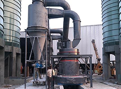 河北平泉县膨润土磨粉生产线