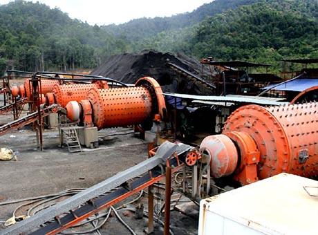 贵州晴隆350t/h锑矿选矿生产线