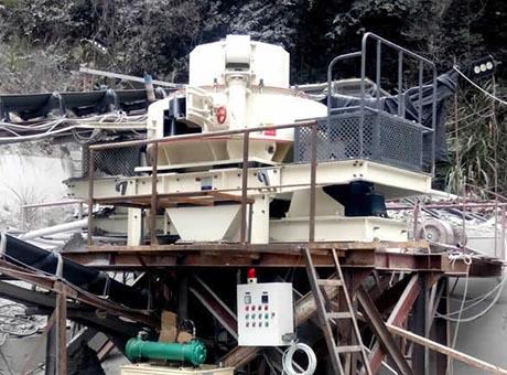广西桂林500t/h河卵石制砂生产线