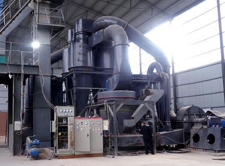 河北灵寿县150吨/天石灰岩磨粉生产线