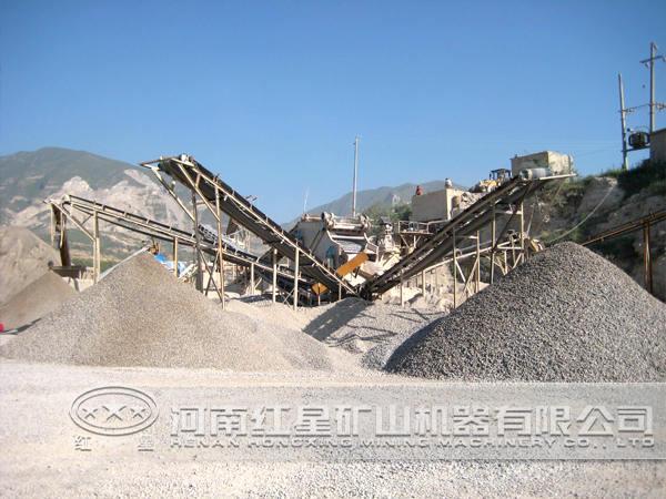 河北邢台300t/h制砂生产线