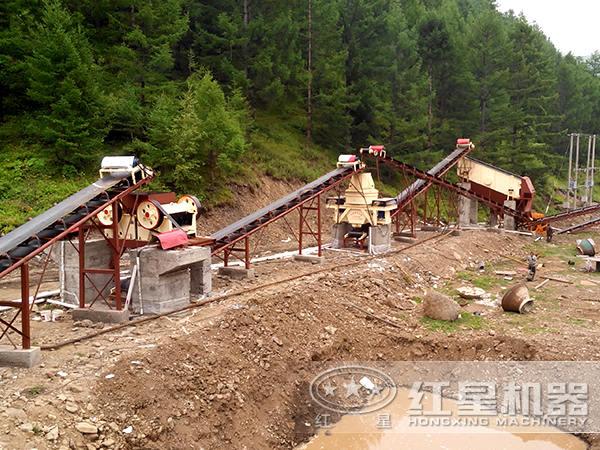 湖南娄底150t/h制砂生产线