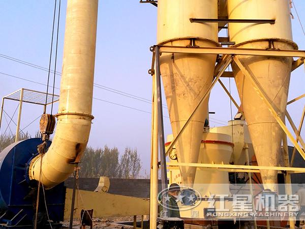 云南大理260t/h方解石磨粉生产线