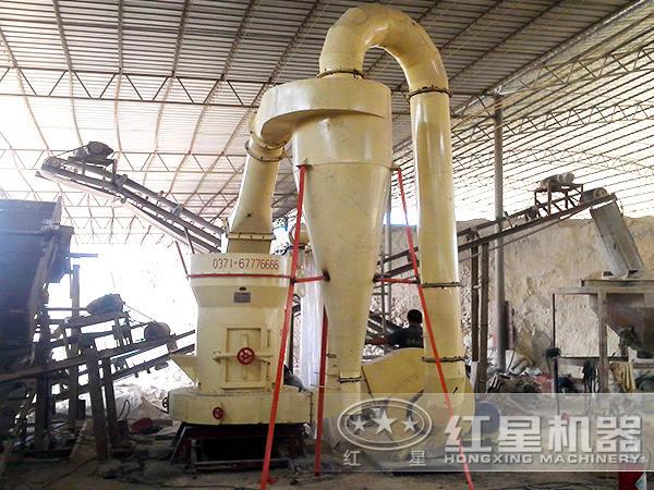 石灰岩磨粉生产线