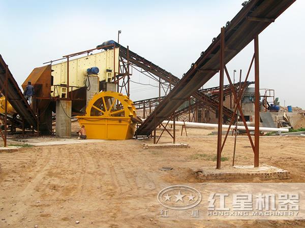 石英砂生产线