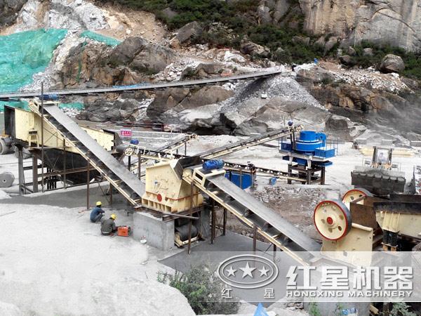 石英砂工艺流程
