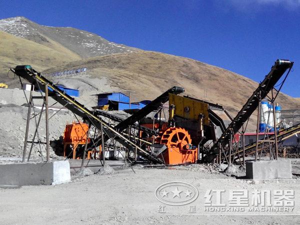 印度400t/h砂石骨料生产线