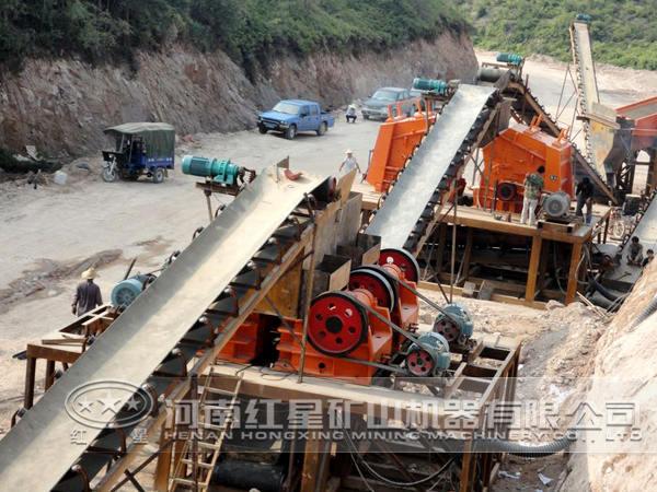 玄武岩加工工艺流程
