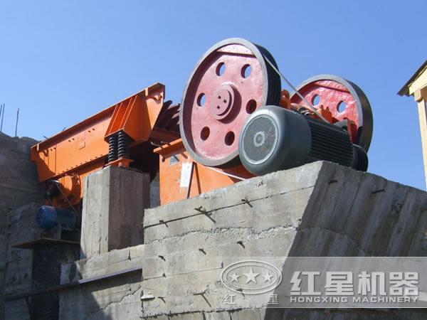700t/h铜矿生产线破碎阶段