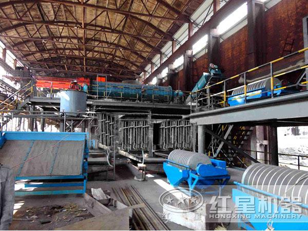 贵州650t/h硫铁矿选矿生产线