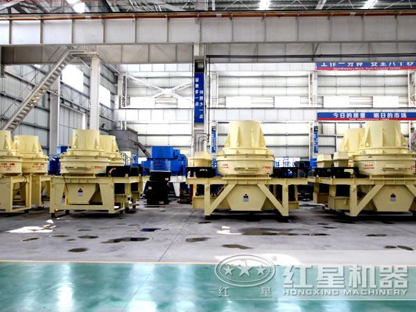 河南红星机械厂生产的制砂机