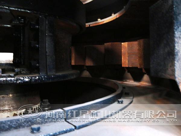 制砂机内部结构