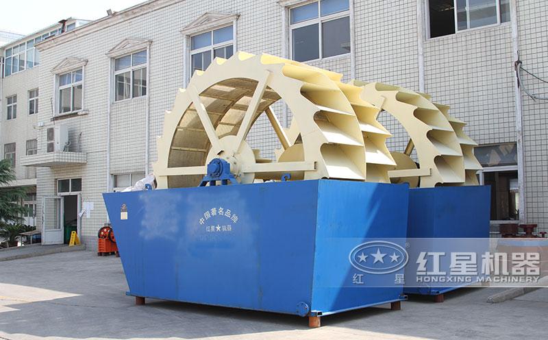 环保洗砂机设备