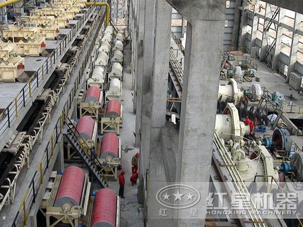 湖北襄阳钛铁矿磁选生产线